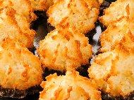 Немски коледни кокосови сладки без брашно